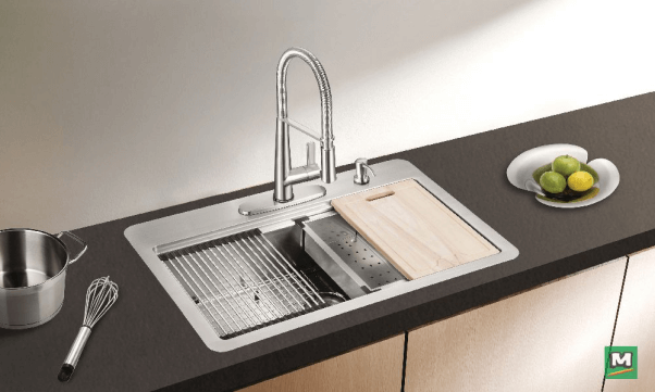 Workstation Kitchen Sink